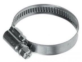 Sťahovacia páska kovová 120-140mm / hadicová spona /