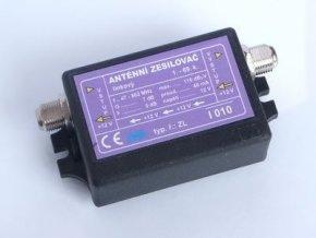 Zesilovač anténní výkonový, linkový 1-69 TV kanál DVB-T I010