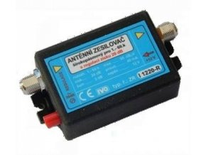 Antenní zosilňovač IVO i1220-RX, 47-800MHz, 10-25dB / š.2dB 95dBuV