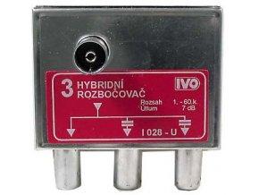 Rozbočovač hybridný 3x IVO I028-U