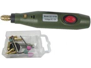 Minivrtačka DZ-70706 12V / 12W 18000 otáčok s príslušenstvom