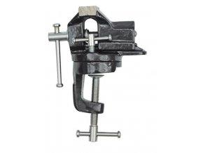 Svěráček 60mm kovový otočný, uchytenie svorkou