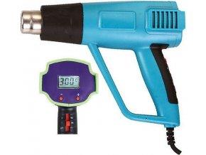 Teplovzdušná pištoľ ZD-510 1500W s reguláciou teploty a displejom