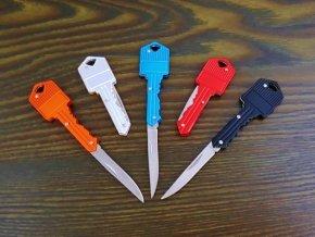 Nůž s rukojetí ve tvaru klíče
