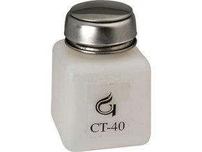 Fľaštička na chemikálie 125ml s pumpičkou a kalíškom