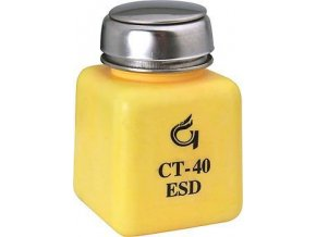 Fľaštička na chemikálie 125ml s pumpičkou antistatická