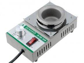 Spájkovacia kúpeľ ZB-50D pre 500g spájky, 230V / 200W, bezolovnaté