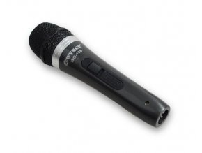 Mikrofón dynamický WG-198 celokovový s vypínačom