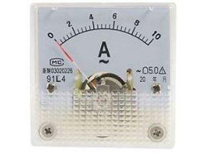 Panelový panelový voltmeter 91L4 10A ~ AC, vrátane bočníka