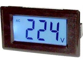 JYX85-panelový LCD MP 600V ~ 70x40x25mm, napájanie 6-12V =