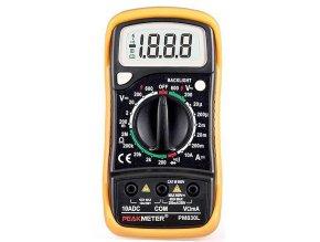 Multimeter PeakMeter PM830L / MAS830L /