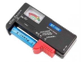 Tester batérií - BT-168, R3, R6, R20, R14, 9V