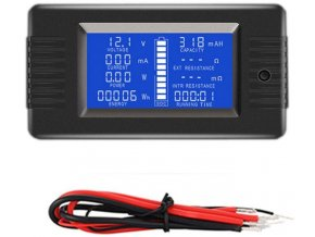 Šikovný tester batérií PZEM013, rozsah 0-200V, 0-10
