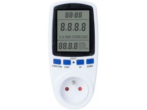 Wattmetr a měřič spotřeby PMB-2