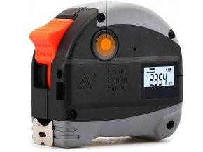 Zvinovací meter s laserovým diaľkomerom Nasitra 5m + 30m