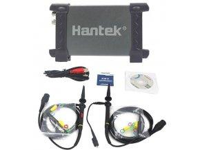 USB osciloskop 2x20MHz Hantek 6022BE k PC