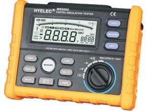 Merač izolačného odporu PeakMeter PM5203 / MS5203 / - 1000V