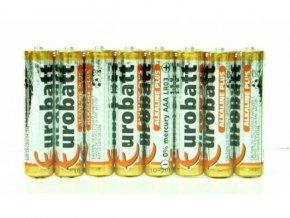 Batérie EUROBATT 1,5V AAA (LR03) Alkaline Plus, balenie 8ks