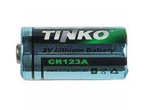 Batérie Tinka CR123A 3V lítiová, 1300mAh