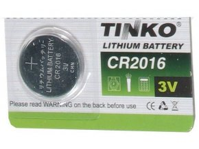 Batérie Tinka CR2016 3V lítiová