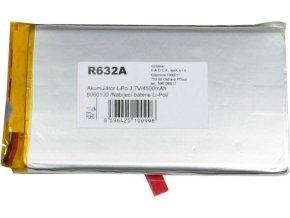 Akumulátor LiPo 3,7V / 4500mAh 6060100 / Nabíjacia batéria Li-Pol /