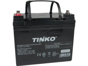 Pb akumulátor Tinka VRLA AGM 12V / 33Ah