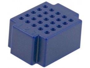 Nepájivé kontaktné pole ZY-25 25p modré