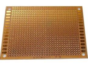 Univerzálny DPS 7x9cm, 720p, RM = 2,54mm, vŕtaná