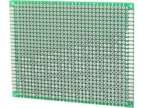 Univerzálny DPS 7x9cm, 806p, RM = 2,54mm, vŕtaná, cínované