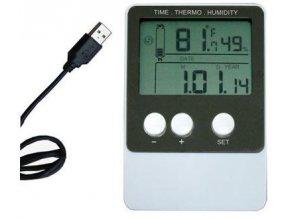 Teplomer + vlhkomer DS102 so záznamom - USB Datalogger