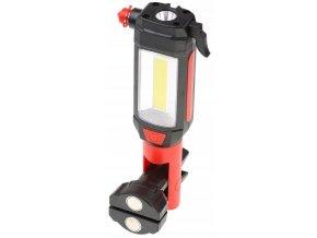 Multifunkční LED svítilna s magnetem, bezpečnostní kladívko