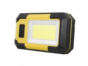 Svietidlo LED COB 10W 6000K, 600lm, IP44, 4000mAh, USB