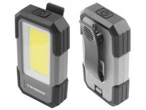 Svietidlo LED COB 3W, 300lm, 3x1,5V AAA, TIROSS