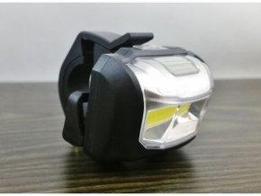 Cyklosvítilna přední LED COB, napájení 3xAAA
