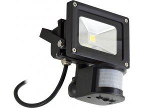 Reflektor LED 10W s PIR čidlem