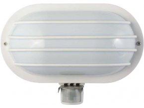 Nástenné svetlo PIR, ST69-2, biele, 230V / max.60W