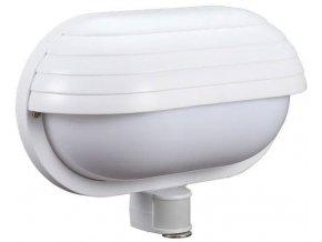 Nástenné svetlo s PIR čidlom, ST69, biele 230V / 60W