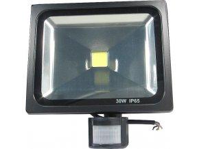 Reflektor LED 30W s PIR čidlom