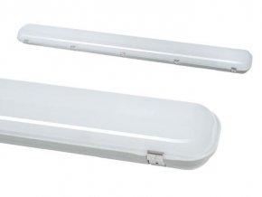 LED svietidlo IP65, 230V, 72W, 8600lm, 4000K, 120cm