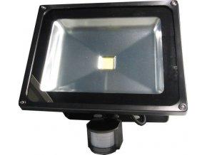 Reflektor LED 50W s PIR čidlom