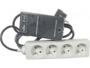 Vypínač spotrebičov v režime stand-by EASY-OFF, 4x zásuvka