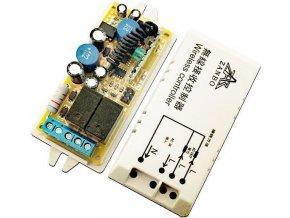 Dálkové ovládání - přijímač ZK-T2 433MHz 2 kanálový, napájení 230V