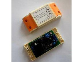 Dálkové ovládání - přijímač ZK1PA-AC 433MHz 1 kanálový, napájení 230V