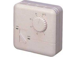 Analógový nástenný termostat TH-555 s termistorom, 250V / 7A