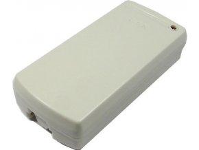 Diaľkové ovládanie - prijímač ZAB2PC 433MHz 2 kanálový, napájanie 12V