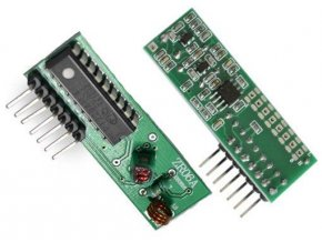 Modul diaľkového ovládania ZR06A - prijímač 433MHz s pevným kódom