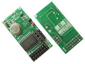 Modul diaľkového ovládania ZF1 - vysielač 433MHz