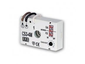 Časový spínač pod vypínač CS3-4M Elektrobock