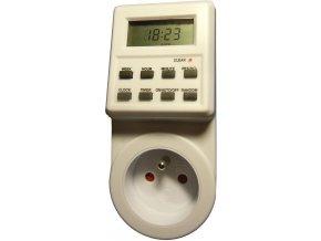 Spínacie hodiny 230V digitálny týždenný TE01F