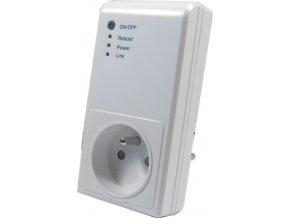 Diaľkovo ovládaná zásuvka WiFi s vysielačom 433MHz Kangtai 51064